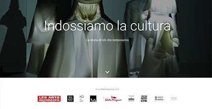 We wear culture di Google Arts e Culture