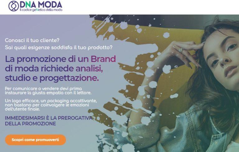 La promozione di un Brand di moda richiede analisi, studio e progettazione