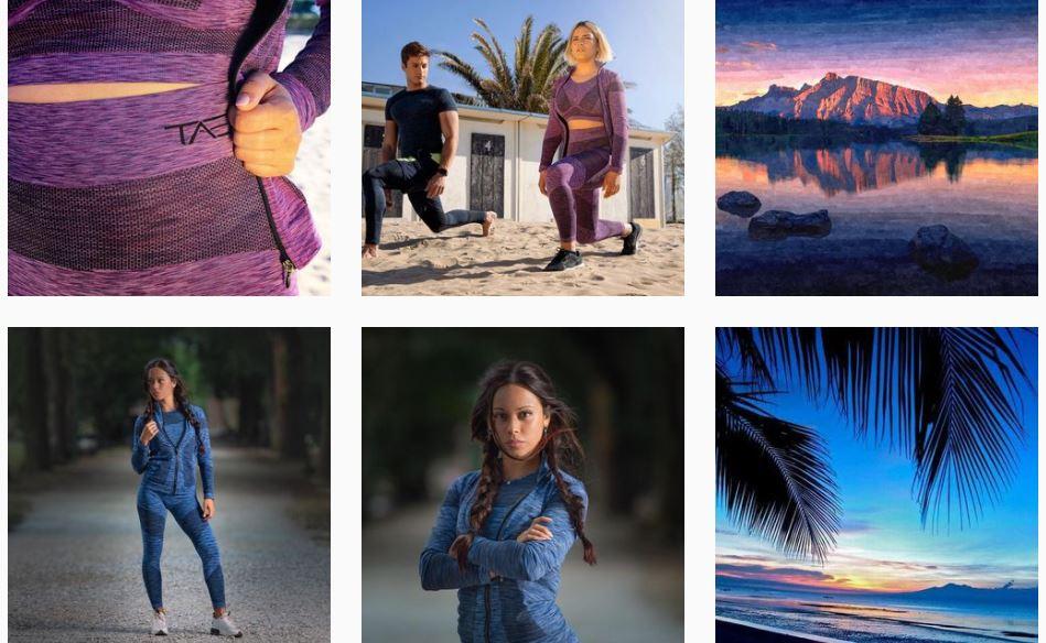 abbigliamento sportiv sostenibile tae collection