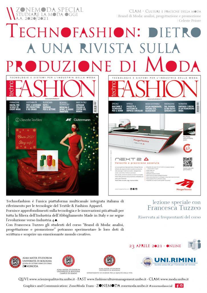 Dietro una rivista di moda: Technofashion a UniBo